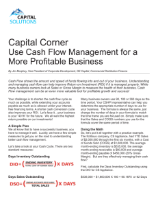 Use Cash Flow Management for a More Profitable Business