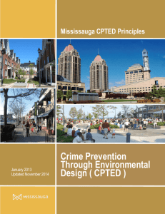 Crime Prevention Through Environmental Design ( CPTED )