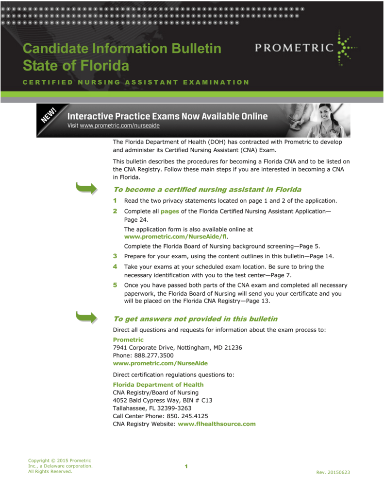 The Florida Certified Nursing Assistant