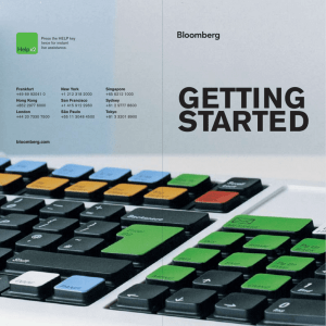 Getting Started Booklet