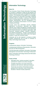 Campus Directory - University of South Florida