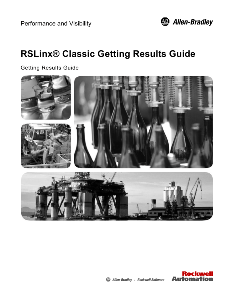 RSLinx® Classic Getting Results Guide