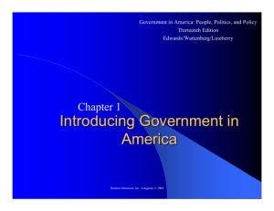 Government in America - National Paralegal College