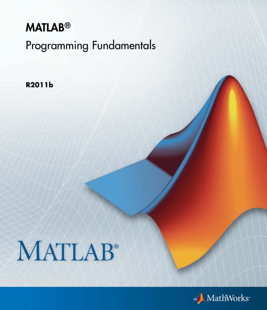 MATLAB Programming Fundamentals