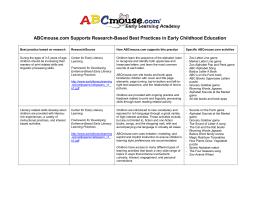 ABCmouse.com Supports Research-Based Best