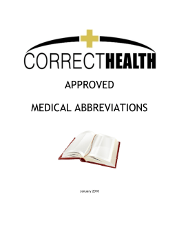 showing 3rd image of Approved Medical Abbreviations 2018 Patient Safety | Essentials of Correctional Nursing | Page 2
