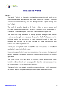 The Apollo Profile