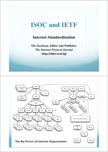 ISOC and IETF