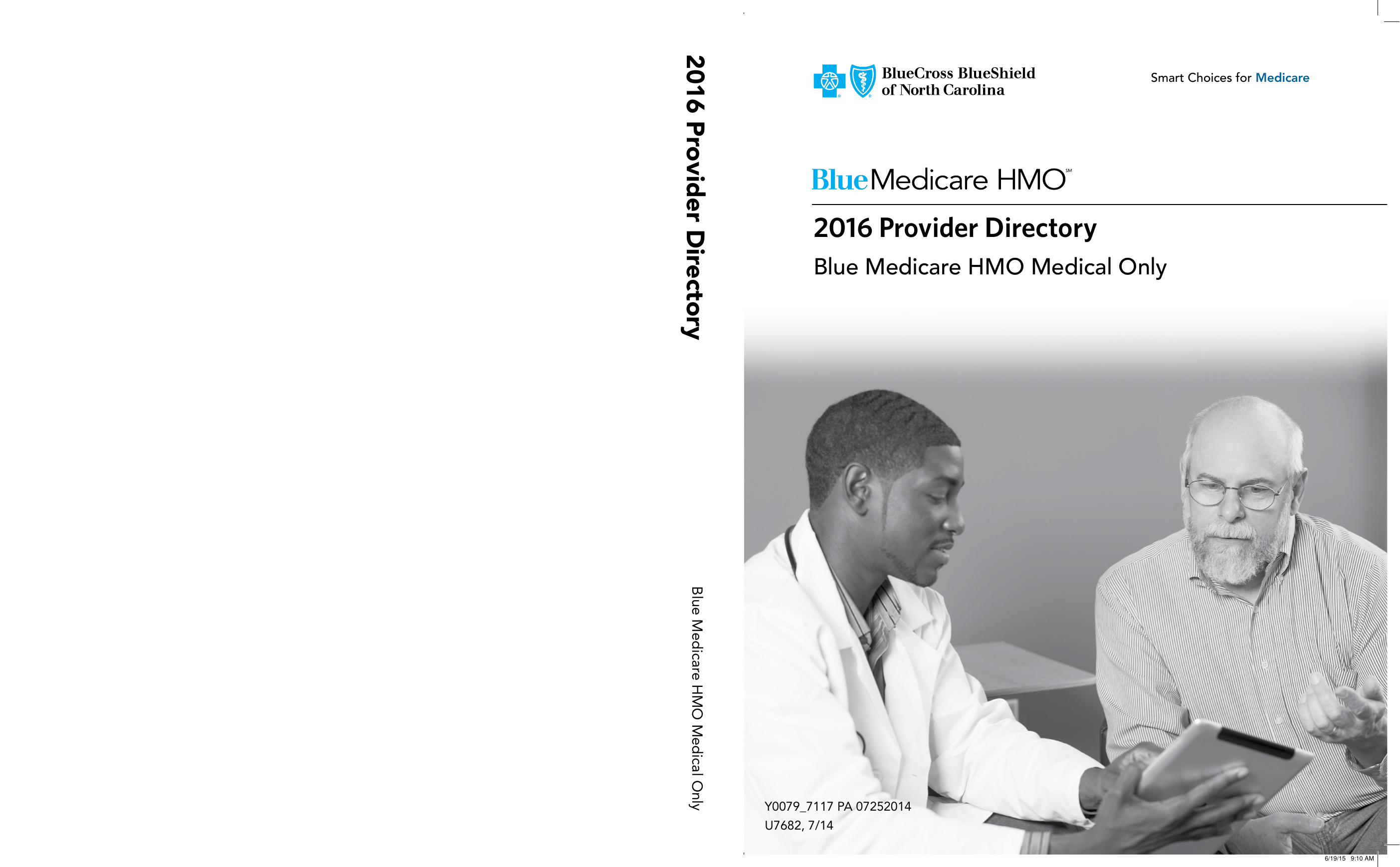 2016 Provider Directory - Blue Cross and Blue Shield of North