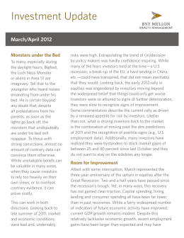 Investment Update - BNY Mellon Wealth Management