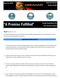 A Promise Fulfilled August 16 Study Guide