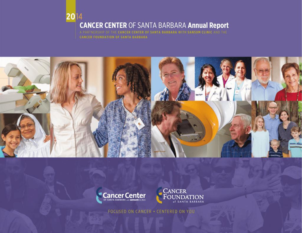 CANCER CENTER OF SANTA BARBARA Annual Report
