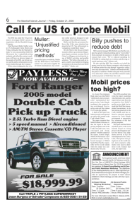 October 21 2005 Call for US to probe Mobil