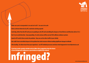 What to do if you infringe – poster