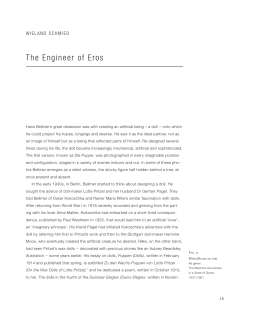 The Engineer of Eros