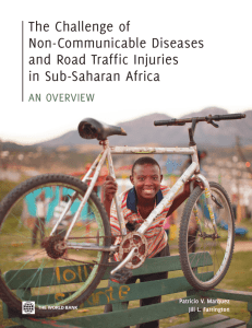 The Challenge of Non-Communicable Diseases and