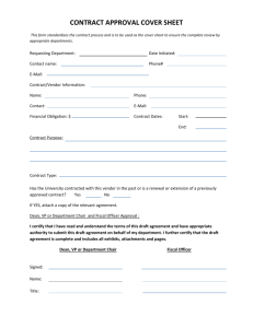 contract approval cover sheet