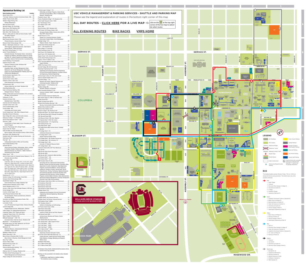 Usc Campus Map Residential Dining link light rail map