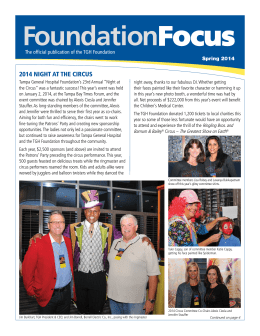 FoundationFocus - Tampa General Hospital