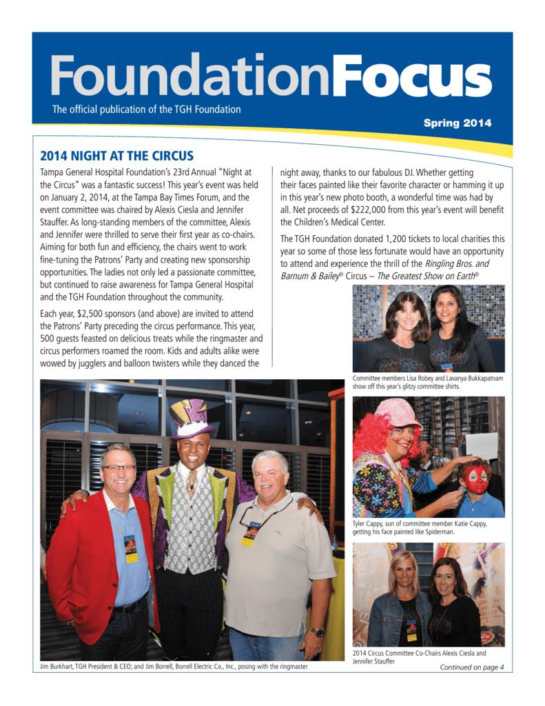 FoundationFocus - Tampa General Hospital