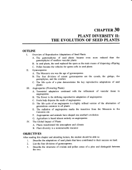 chapter 30 - Scranton Prep Biology