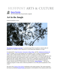 Art in the Jungle - Creative Class Group