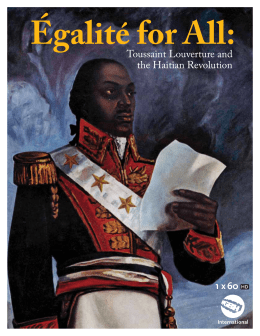 william wordsworth to toussaint l ouverture analysis