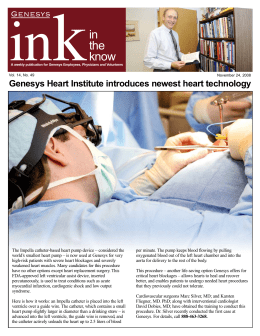 in the know - Genesys Regional Medical Center