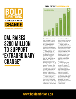 Dal raises $280 million to support extraorDinary