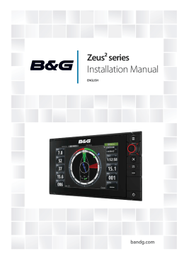 Zeus Installation Manual