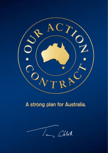 Crucial For The Future - Liberal Party of Australia