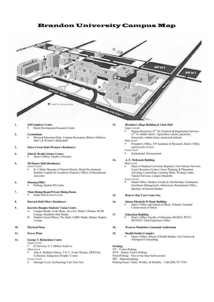 u of manitoba campus map