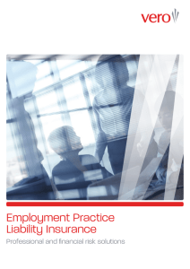 Employment Practice Liability Insurance