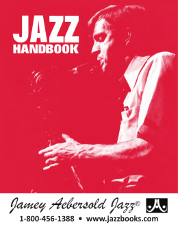 our Jazz Handbook as a PDF