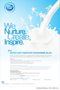dutch lady associate programme