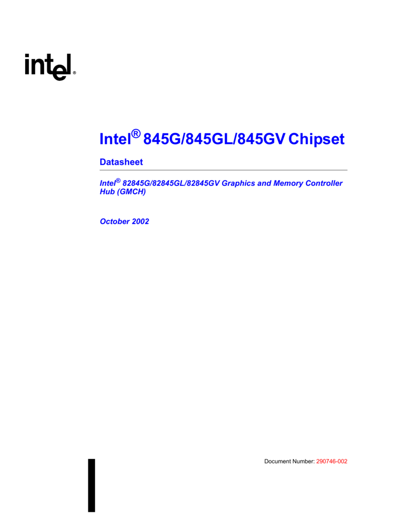 DOWNLOAD DRIVERS: INTEL 82845 GL CHIPSET
