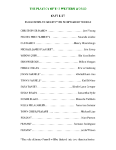 THE PLAYBOY OF THE WESTERN WORLD CAST LIST