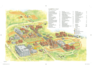 Campus Map July 2011 - Parking Services