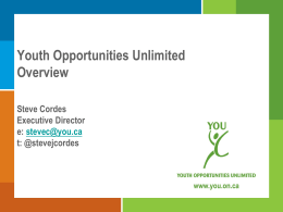 Youth Opportunities Unlimited Overview