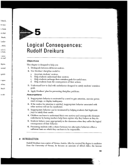 Logical Consequences - Willamette University
