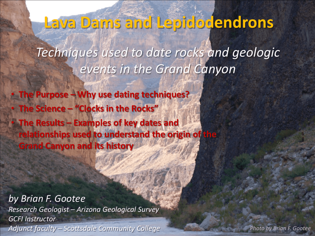 Dating Grand Canyon voorbeelden van wat te zeggen op een dating site profiel
