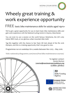 Wheely great training &
