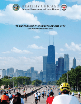 Healthy Chicago - City of Chicago
