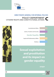 Sexual exploitation and prostitution and its impact on gender equality