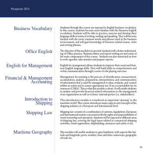 Business Vocabulary Office English English for Management