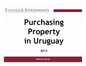 The Property Purchase Process in Uruguay