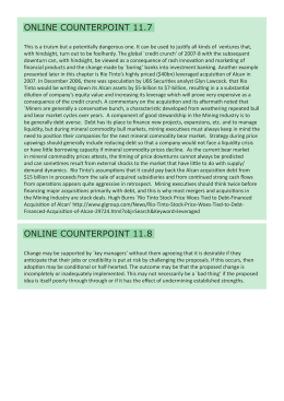 ONLINE COUNTERPOINT 11.7 ONLINE COUNTERPOINT 11.8