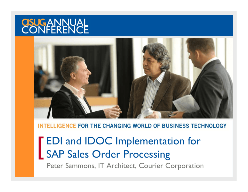 EDI and IDOC Implementation for SAP Sales Order