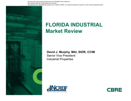 Florida Industrial - David Murphy