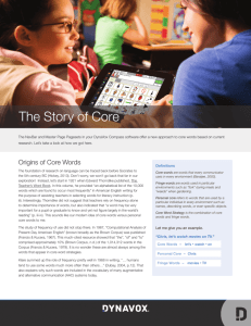 The Story of Core